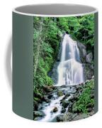 Waterfall In A Forest, Moss Glen Falls Coffee Mug