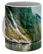 Waterfall Jervis Inlet Coffee Mug