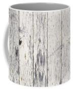 Weathered Paint On Wood Coffee Mug