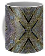 Weathered Wood Tiled IIi Coffee Mug