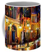 When The City Sleeps Coffee Mug by Leonid Afremov