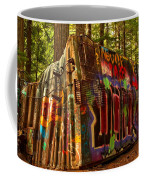 Whistler Train Derailment Box Car Coffee Mug