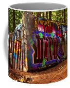 Whistler Train Wreck Box Car Coffee Mug
