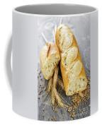 White Baguette Coffee Mug