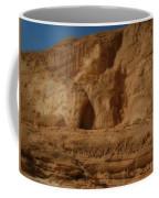 White Canyon Sinai Desert Egypt Coffee Mug