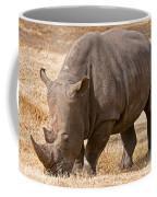 White Rhinoceros Coffee Mug