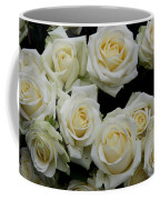 White Roses Coffee Mug