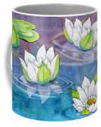 White Water Lilies Coffee Mug