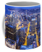 Wide Seattle Cityscape Coffee Mug