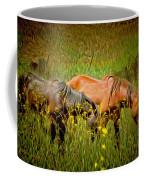 Wild Horses In California Series 2 Coffee Mug