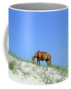 Wild Horses Of Corolla Coffee Mug
