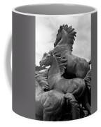 Wild Mustang Statue Coffee Mug