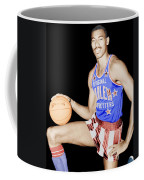 Wilt Chamberlain As A Member Of The Harlem Globetrotters  Coffee Mug