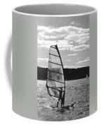 Wind Surfer Bw Coffee Mug