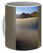 Wind Traces At The Desert Coffee Mug