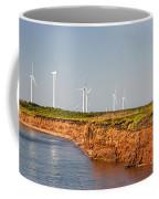 Wind Turbines On Atlantic Coast Coffee Mug