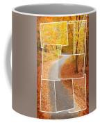 Winding Alley In Fall Coffee Mug