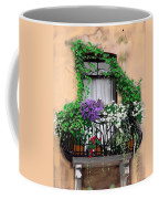 Window Flower Box Coffee Mug