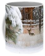 Winter Doe Coffee Mug