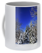 Winter Forest Under Snow Coffee Mug