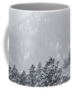 Winter In Pike National Forest Coffee Mug