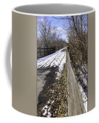 Winter On Macomb Orchard Trail Coffee Mug