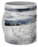 Winter Stream, Jasper National Park Coffee Mug