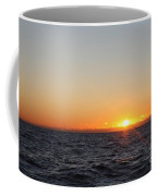 Winter Sunrise Over The Ocean Coffee Mug