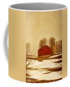 Wisconsin Barn In Winter Coffee Mug