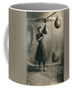 Woman Boxing Workout Coffee Mug