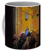 Women At Rumi's Mausoleum In Konya-turkey  Coffee Mug