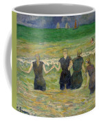 Women Bathing Coffee Mug