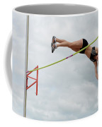 Womens Pole Vault 3 Coffee Mug