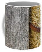 Wood Concrete And Steel In Color Coffee Mug