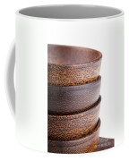 Wooden Bowls Isolated Coffee Mug