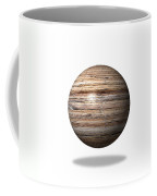 Wooden Globe Coffee Mug