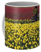Worker Carrying Tulips Coffee Mug