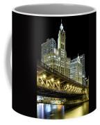 Wrigley Building At Night Coffee Mug