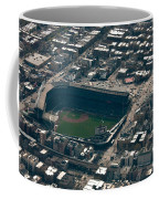 Wrigley Field From The Air Coffee Mug