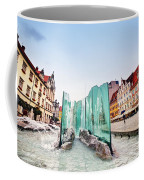 Wroclaw Poland The Market Square With The Famous Fountain Coffee Mug