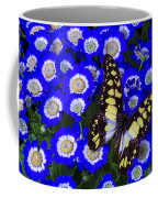 Yellow And Black Butterfly Coffee Mug
