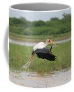 Yellow-billed Stork Mycteria Ibis Coffee Mug