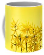 Yellow Forsythia Flowers Coffee Mug