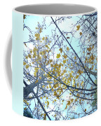 Yellow Leaves Vintage Coffee Mug