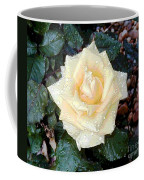 Yellow Rose At Dawn Coffee Mug