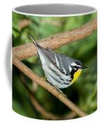 Yellow-throated Warbler Coffee Mug