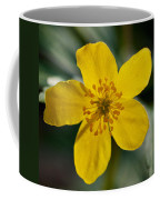 Yellow Wood Anemone Coffee Mug