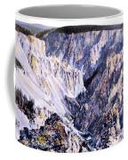 Yellowstone Canyon Yellowstone Np Coffee Mug