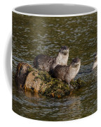Yellowstone Otters Coffee Mug