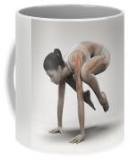 Yoga Crane Pose Coffee Mug
